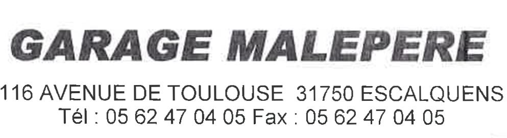 Garage Malpère